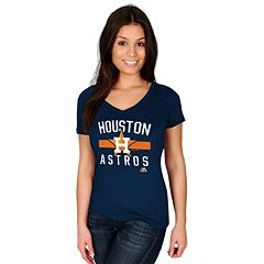 Women's Majestic Houston Astros One Game at a Time Tee