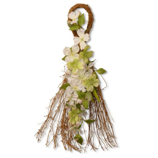 """National Tree Company 24"""" Artificial Dogwood Floral Wall Decor"""