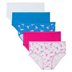 Girls 6-16 Fruit of the Loom 5 pkBreathable Hipster Panties