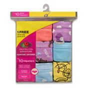 Girls 4-14 Fruit of the Loom 9-pack Hipster Panties