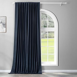 EFF Blackout 1-Panel Eclipse Patio Sized Double Wide Window Curtain