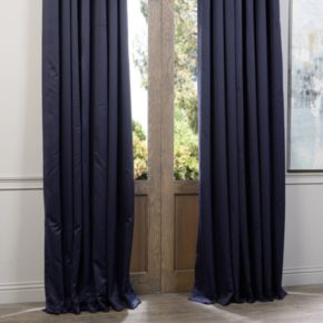 EFF Eclipse Patio Sized Double Wide Blackout Window Curtain