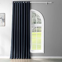 EFF Eclipse Grommet Patio Sized Double Wide Blackout Window Curtain