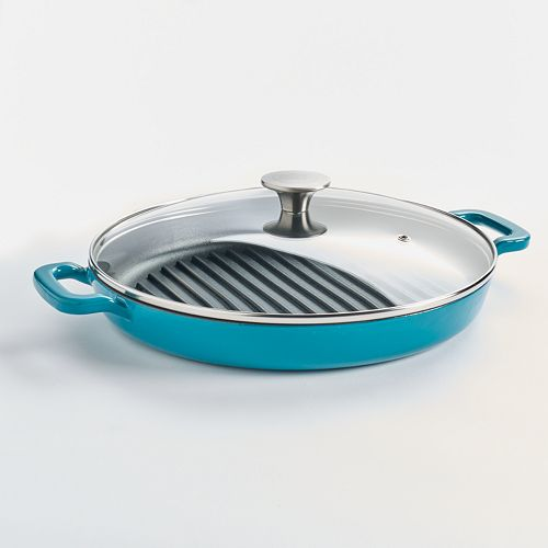 Food Network™ 12-in. Cast-Iron Grill Pan