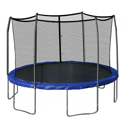 Skywalker Trampolines 15-ft. Round Trampoline with Enclosure