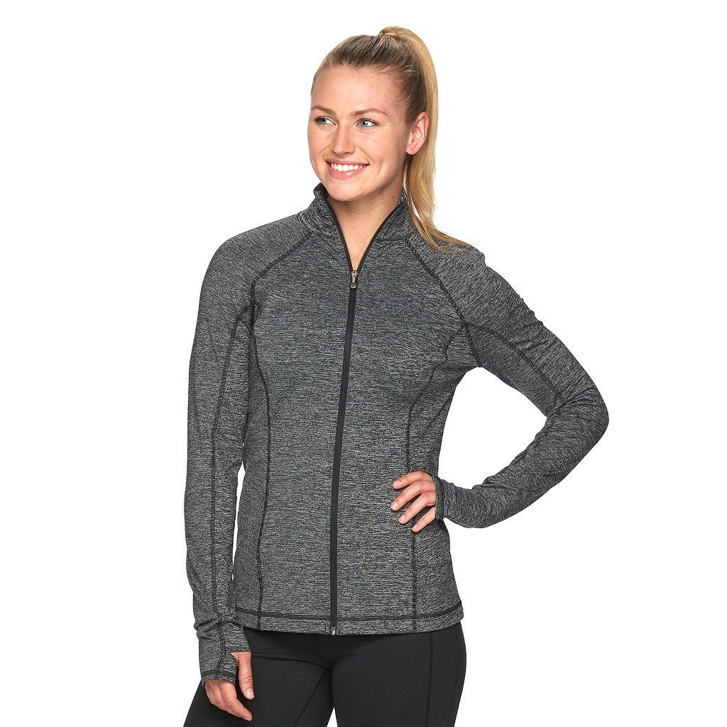 Women's Tek Gear® Space-Dye Workout Jacket