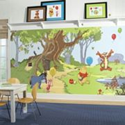Disney's Winnie The Pooh & Friends Removable Wallpaper Mural
