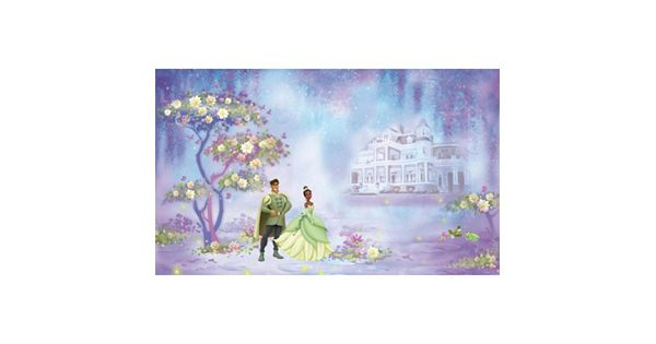 Disney 39 s princess the frog tiana removable wallpaper mural for Disney princess wall mural tesco