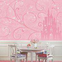 Princess Scroll & Castle Removable Wallpaper Mural