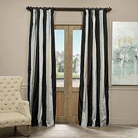EFF Taffeta Striped Blackout Lined Curtain