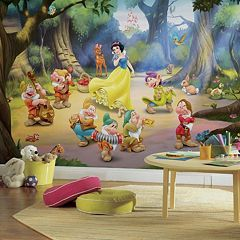 Disney's Snow White and the Seven Dwarfs Removable Wallpaper Mural