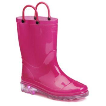 Western Chief Girls' Light-Up Rain Boots