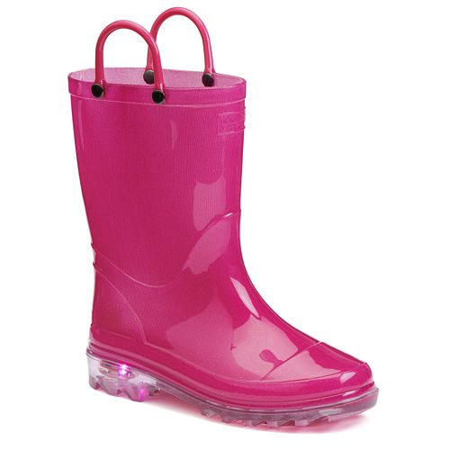 Western Chief Girls' Light-Up Rain Boots