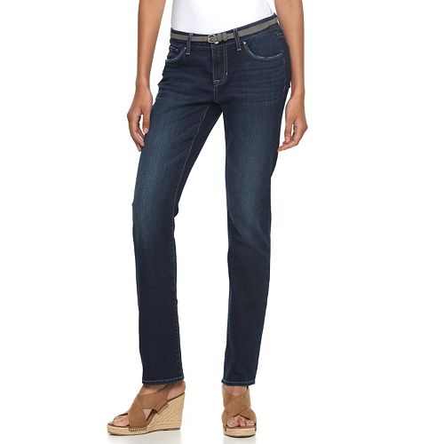 Women's Apt. 9® Modern Fit Straight-Leg Jeans