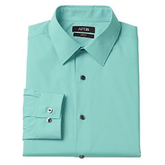 Men's Apt. 9® Extra-Slim Solid Stretch Dress Shirt
