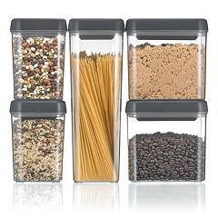 Polder 5 Pc. Twist-Lock Canister Set