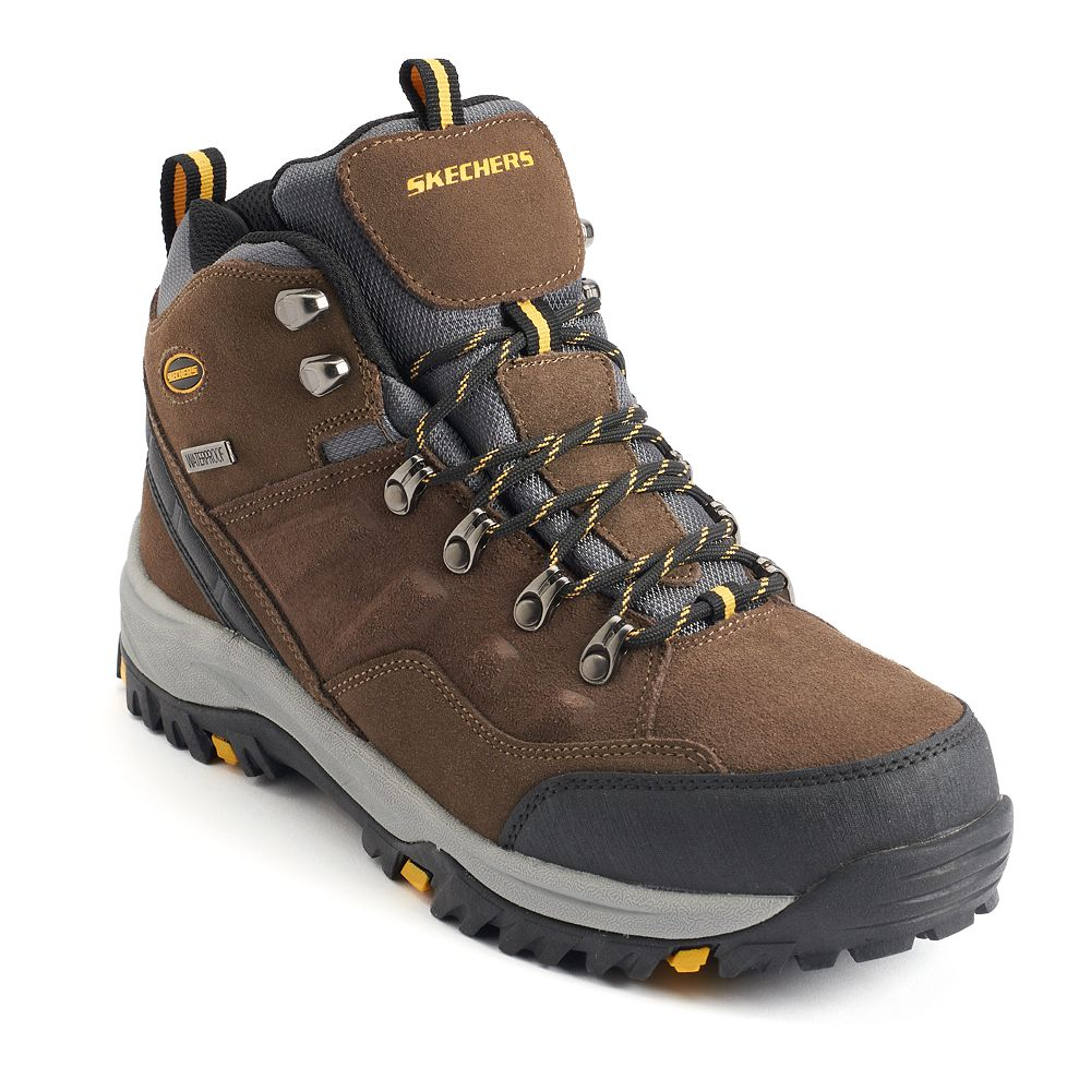Skechers Relaxed Fit Relment Pelmo Men's Waterproof Boots
