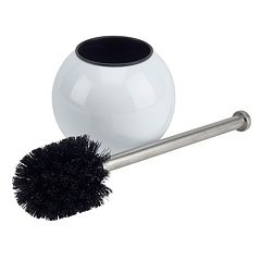 Bath Bliss Globe Design Toilet Brush & Holder
