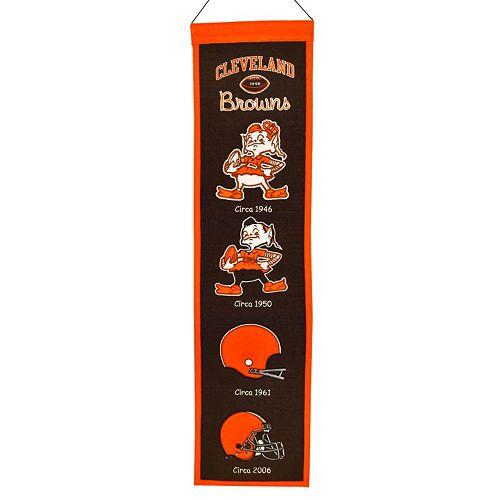 Cleveland Browns Heritage Banner