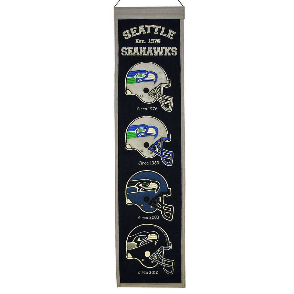 Seattle Seahawks Heritage Banner