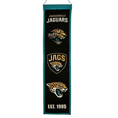 Jacksonville Jaguars Heritage Banner