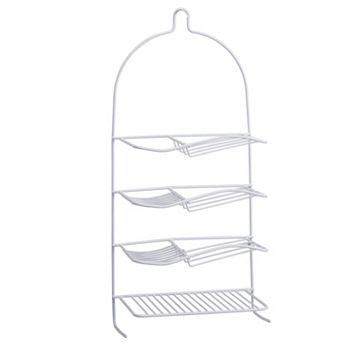 Bath Bliss 4 Shampoo Shelf Shower Caddy