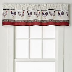 Saturday Knight, Ltd. French Country Tier Curtain Pair