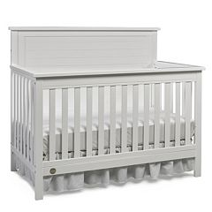Fisher-Price Quinn White Full Panel Convertible Crib