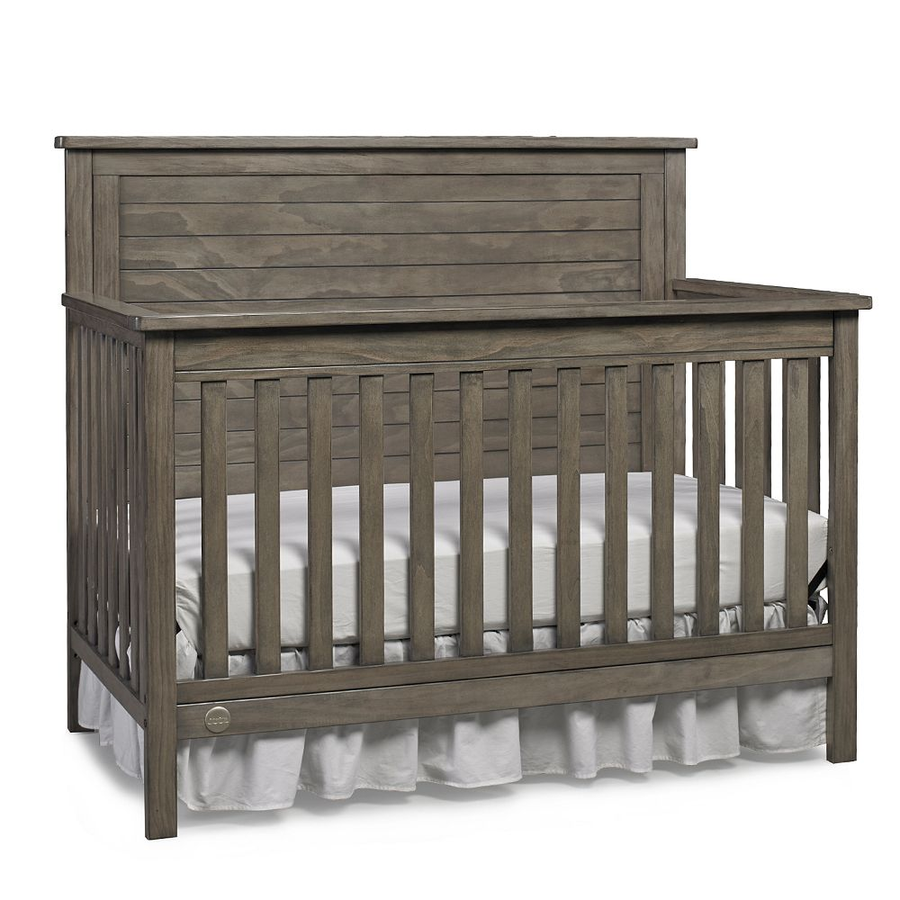 Crib for life prices - Fisher Price Quinn Gray Full Panel Convertible Crib