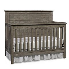 Fisher-Price Quinn Gray Full Panel Convertible Crib