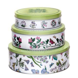 Portmeirion Botanic Garden 3-pc. Nesting Cake Tin Set
