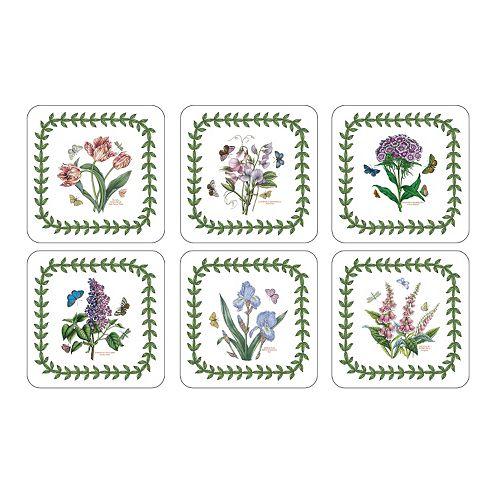 Portmeirion Botanic Garden 6-pc. Coaster Set