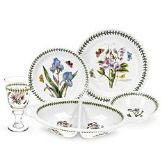 Portmeirion Botanic Garden 17-pc. Dining Set