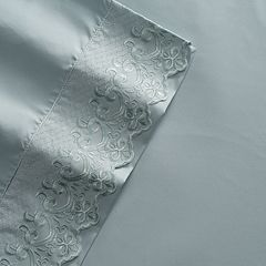 Grand Collection Grand Lace Microfiber Sheet Set