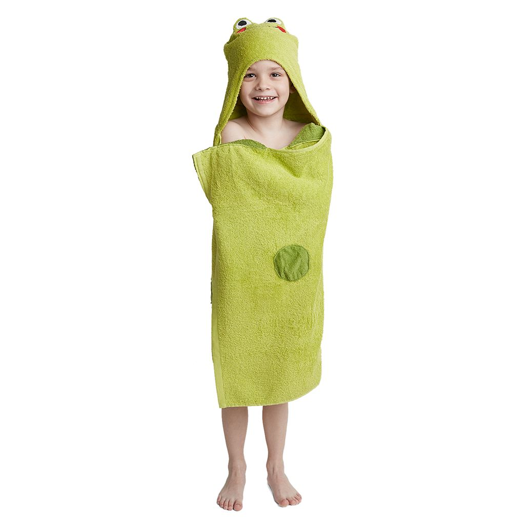 Jumping Beans Frog Bath Wrap