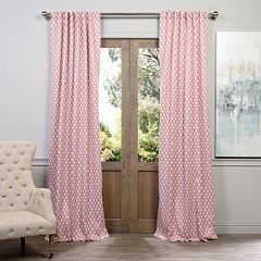 EFF Blackout 1-Panel Casablanca Window Curtain
