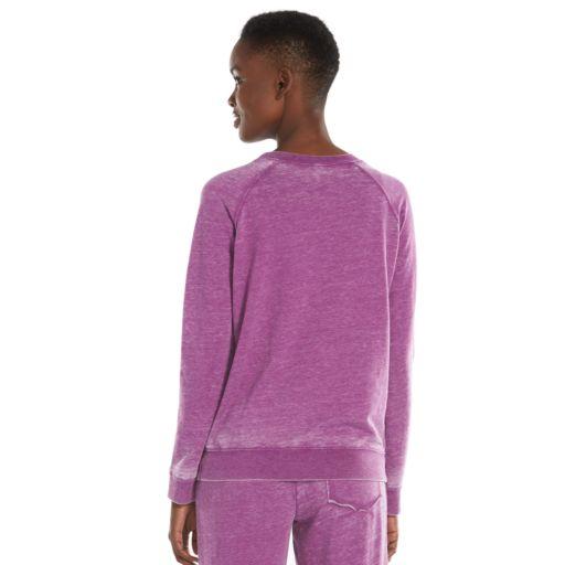 Women's Ten to Zen Burnout French Terry Lounge Sweatshirt