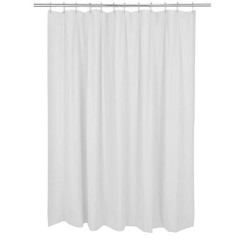 Bath Bliss Mildew Blocker Heavy Gauge Shower Curtain Liner