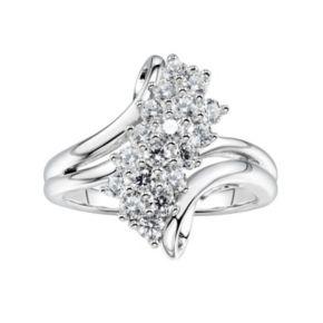 DiamonLuxe1 7/8 Carat T.W. Simulated Diamond Waterfall Ring