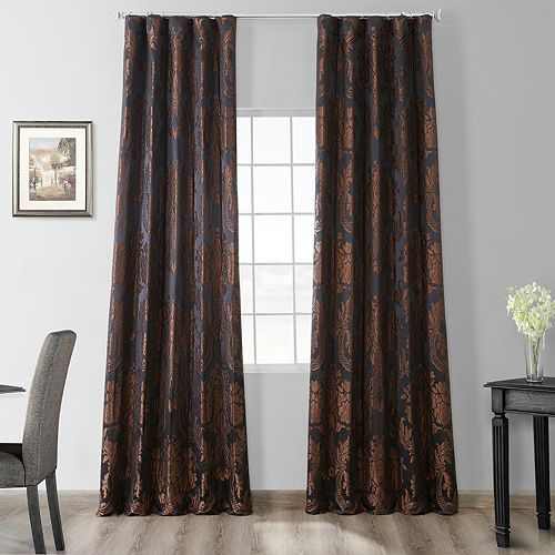 EFF Magdelena Faux Silk Jacquard Window Curtain