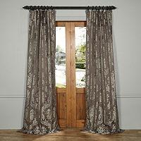 EFF Magdelena Faux Silk Jacquard Window Curtain