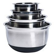 Basic Essentials 4 pc Mixing Bowl Set