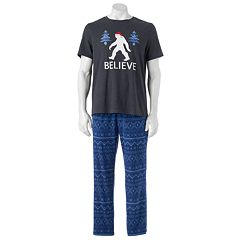 Men's SONOMA Goods for Life® Graphic Tee & Microfleece Lounge Pants Set