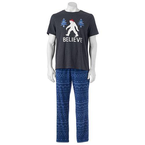 Men's SONOMA Goods for Life® Graphic Tee & Microfleece Lounge Pants Set