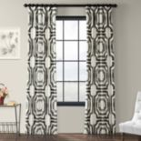 EFF 1-Panel Mecca Lined Window Curtain