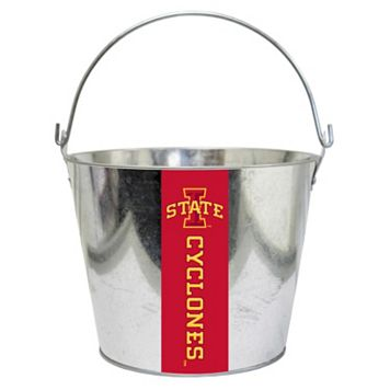 Iowa State Cyclones Metal Bucket