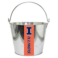 Illinois Fighting Illini Metal Bucket