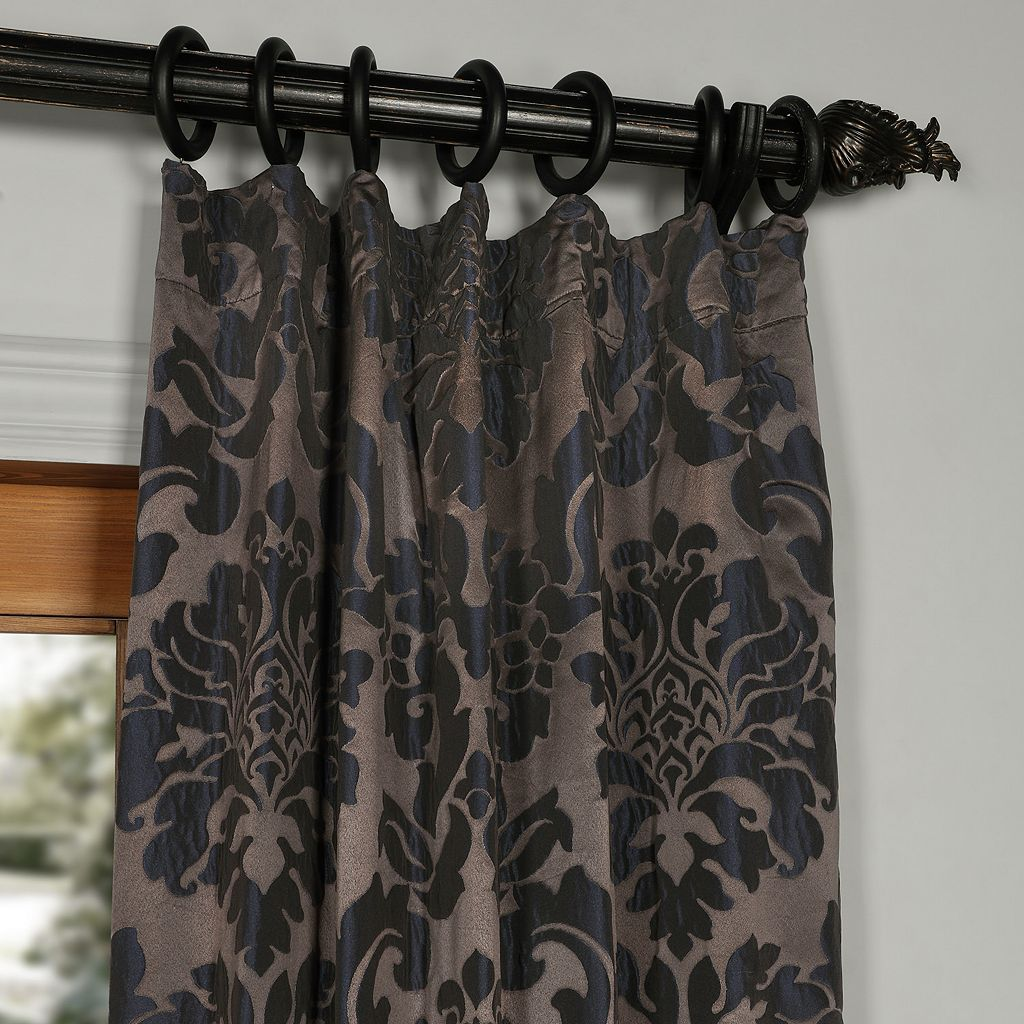 EFF Astoria Faux Silk Jacquard Window Curtain