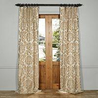 EFF Astoria Faux Silk Jacquard Window Curtain