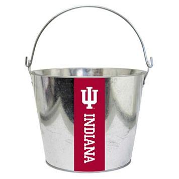 Indiana Hoosiers Metal Bucket